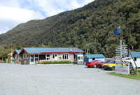 New zealand hollyford track gunns camp for Lake tekapo motor camp