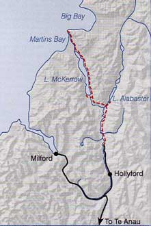 Hollyford Valley And Hollyford Track